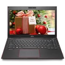 富士通 UH554 13.3英寸笔记本电脑(i5-4210U 4G 500G HD4400高清核显 蓝牙4.0 HDMI)黑色产品图片主图
