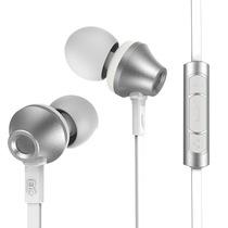 REMAX 610D 入耳式纯音耳机 银色产品图片主图