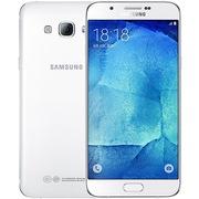 三星 Galaxy A8(A8000)32G版 雪域白 移动联通电信4G手机 双卡双待