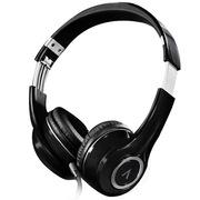 爱谱王 MH399(高保真重低音)头戴式 手机耳机 黑色