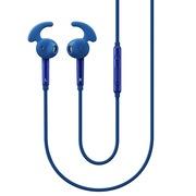 三星 EO-EG920L 入耳式立体声线控运动耳机(蓝色) 鲨鱼鳍耳翼耳塞 高清降噪 低音增强