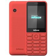 富可视 F120 橘子红 移动联通2G手机 双卡双待