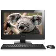 联想 扬天S5030-00 23英寸一体电脑 (奔腾3558U 2G 500G 集成显卡 Wifi DVD刻 win7)黑色
