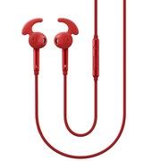 三星 EO-EG920L 入耳式立体声线控运动耳机(红色) 鲨鱼鳍耳翼耳塞 高清降噪 低音增强