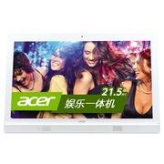 宏碁 AZ1620-N80 21.5英寸一体电脑(i3-4005U 4G 500G GT940M 2G USB3.0 DVD刻录 键鼠 Win8.1)白色