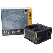 安钛克 额定450W EAG450 电源(12CM风扇/ 80PLUS金牌/支持背线/主动式PFC)