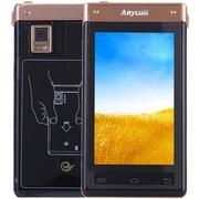 三星 SCH-W899 亮金色 电信3G手机 双卡双待双通