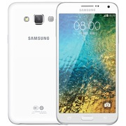 三星 Galaxy E7000 白色 移动联通4G手机 双卡双待