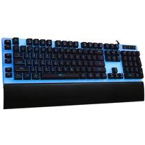 ET I-1000  有线游戏双背光机械手感键盘   七色呼吸灯 黑色产品图片主图