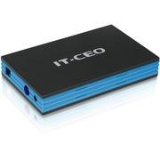 IT-CEO IT-800 USB3.0 3.5英寸移动硬盘盒/存储盒 支持SATA串口SSD固态/HDD台式电脑主机硬盘 拉丝黑