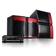 现代 K-820家庭影院套装 卡拉OK音响套装 KTV音箱组合 舞台版玫瑰红