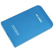 IT-CEO L-602 USB2.0移动硬盘盒 适合2.5英寸IDE并行接口硬盘/笔记本电脑拆机老式硬盘 砂蓝色