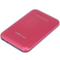 IT-CEO IT-700 USB2.0移动硬盘盒 2.5英寸(笔记本硬盘) 适用于固态硬盘SSD 内部SATA串口 砂红色产品图片主图