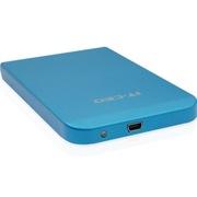 IT-CEO L-600 USB3.0移动硬盘盒/存储盒 支持2.5英寸SATA串口SSD固态/笔记本电脑硬盘 全铝合金外壳 砂蓝色