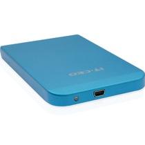 IT-CEO L-600 USB3.0移动硬盘盒/存储盒 支持2.5英寸SATA串口SSD固态/笔记本电脑硬盘 全铝合金外壳 砂蓝色产品图片主图