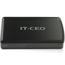 IT-CEO L-803 3.5英寸SATA/IDE接口USB3.0移动硬盘盒 砂黑色产品图片主图