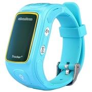 阿巴町 二代KT01S 儿童 GPS定位 智能通话 多功能手表   宁静蓝