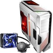 至睿  怒舰DX7 全塔机箱 白色+九州风神 水元素 120T 玩家版 CPU散热器(套装)