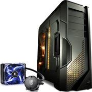 至睿  怒舰DX7 全塔机箱 枪灰色+九州风神 水元素 120T 玩家版 CPU散热器(套装)