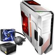 至睿  怒舰DX7 全塔机箱 白色+安钛克 VP450P电源+九州风神 水元素 120T 玩家版 CPU散热器(套装)
