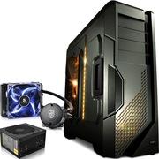 至睿  怒舰DX7 全塔机箱 枪灰色+安钛克 VP450P电源+九州风神 水元素 120T CPU散热器(套装)