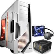 至睿  怒舰DX7 全塔机箱 白色+安钛克 VP500P电源+九州风神 水元素 120T 玩家版 CPU散热器(套装)