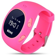 快易典 儿童定位电话手表G3(粉色)智能通话对讲 关爱小天才360度安全防护 学生小孩防丢手环手机