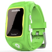 阿巴町 三代KT01W 儿童智能通话 GPS定位 防水防丢多功能手表  绿色