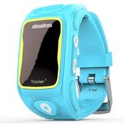 阿巴町 三代KT01W 儿童智能通话 GPS定位 防水防丢多功能手表  蓝色