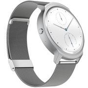 Ticwatch 智能手表 语音手势触摸全交互ticwear系统 蓝牙手表 防水记步测心率 不锈钢带 太空灰
