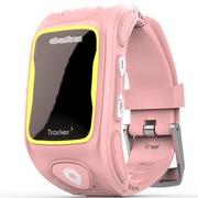 阿巴町 三代KT01W 儿童智能通话 GPS定位 防水防丢多功能手表   粉色