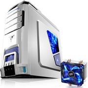 至睿  极光AR51 白色+九州风神 玄冰400 CPU散热器(套装)