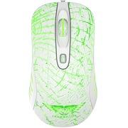 新贵 GX1-炫光版(白色) 可控式七彩呼吸灯 专业电竞游戏发光鼠标
