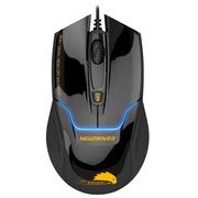 新贵 N400 有线游戏发光鼠标 黑色 USB