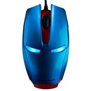 新贵 钢铁侠 有线游戏发光鼠标 蓝色(蓝光)