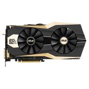 华硕 GOLD20TH-GTX980 -P-4GD5 1431MHz/7010MHz 4GB/256bit DDR5 PCI-E 3.0 显卡