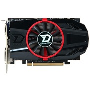 迪兰 HD7770 超能 1G DS 950/4500MHz 1GB/128bit GDDR5 显卡