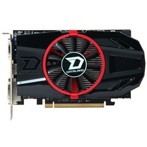 迪兰 HD7770 超能 1G DS 950/4500MHz 1GB/128bit GDDR5 显卡产品图片主图