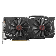 华硕 猛禽STRIX-GTX980-DC2-4GD5 战枭版1216MHz/7010MHz 4GB/256bit DDR5 PCI-E 3.0 显卡