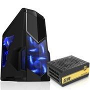 先马 影子战士黑色标准版游戏机箱+金牌750W 额定功率750W(全电压金牌)