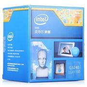 英特尔 奔腾双核G3240 Haswell全新架构盒装CPU处理器(LGA1150/3.1GHz/3M三级缓存/53W/22纳米)