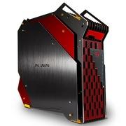 迎广  H-Frame KingSize EATX开放式机箱/限量版(USB3.0 *8/ iPhone充电/SATA热插拔 )黑红色