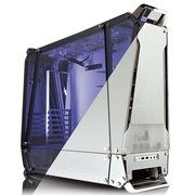迎广  透/Tou 中塔ATX 机箱/铝合金/玻璃/ 概念机 (USB3.0 *2 /自帶4个12cm透明风扇)