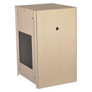 联力 PC-Q9金色 侧透 ITX 全铝 机箱