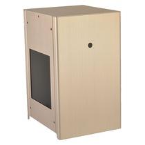 联力 PC-Q9金色 侧透 ITX 全铝 机箱产品图片主图