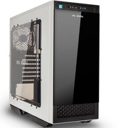 迎广 5系503ATX中塔机箱(U3*1,U2*2)标配2个12cm风扇/钢化玻璃精品机箱/白色