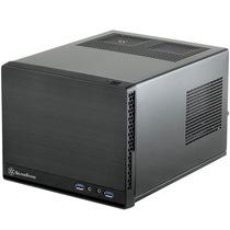 银欣 SG13B-Q 珍宝13 黑色静音版ITX机箱(支持长显卡、ATX电源/支持水冷)产品图片主图