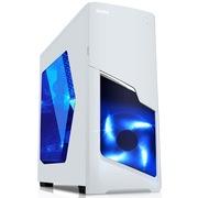 先马 星际之门 游戏机箱(USB3.0/双SSD/长显卡/侧透/接口防尘塞/前板标配1把风扇)