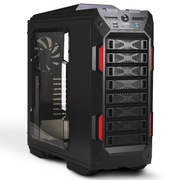 迎广 GRone V2 全塔EATX 精品机箱 (USB3.0 *2 ,USB2.0*2,标配5个14cm风扇)黑色