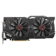 华硕 猛禽STRIX-GTX970-DC2-4GD5 战枭版1178MHz/7010MHz 4GB/256bit DDR5 PCI-E 3.0 显卡